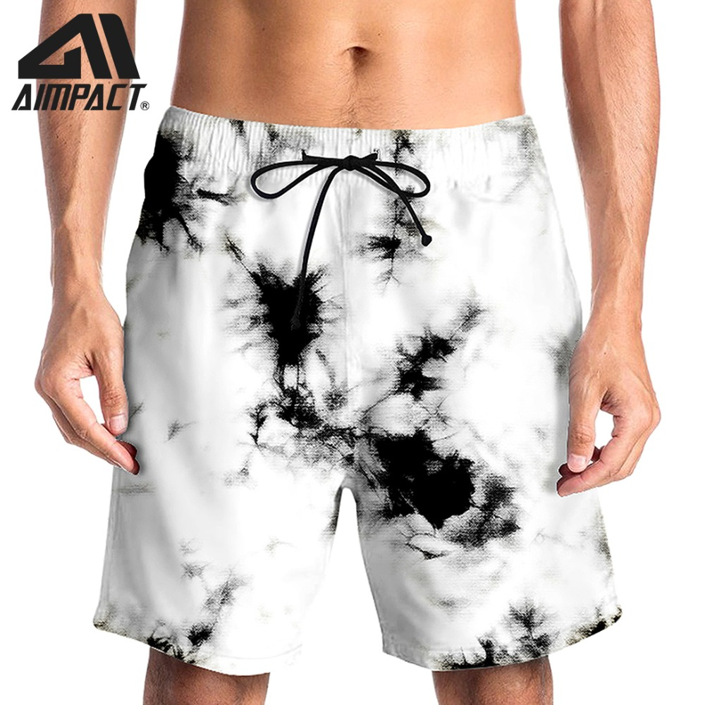 Fashion 3D   Board     Shorts   for Men Summer Quick Dry Sea Beachwear   Shorts   Surf Pool Swim Trunk Casual Hybird   Short   By Aimpact AM2129