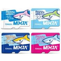 MIXZA Requin édition carte mémoire 256 gb 128 gb 64 gb UHS-3 80 mb/s 32 gb 16 gb USH-1micro sd carte class10 flash carte Mémoire microsd