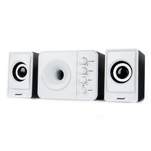 Usb Multimedia Stereo Computer Speakers 2.1 For PC Desktop Laptop,External Bass Speaker Box Loud Speaker 3.5mm With Subwoofer