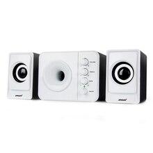 Usb Multimedia Stereo Computer Speakers 2.1 For PC Desktop Laptop,External Bass Speaker Box Loud Speaker 3.5mm With Subwoofer