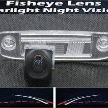 1080P траектория треков Рыбий глаз объектив автомобильная парковочная камера заднего вида для hyundai Elantra Accent Tucson Veracruz Sonata Terracan