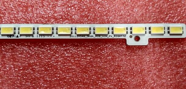 Led Backlight ScreenUA46D6400UJ BN64-01645A LTJ460HW01-H  1pcs=72led 510mm