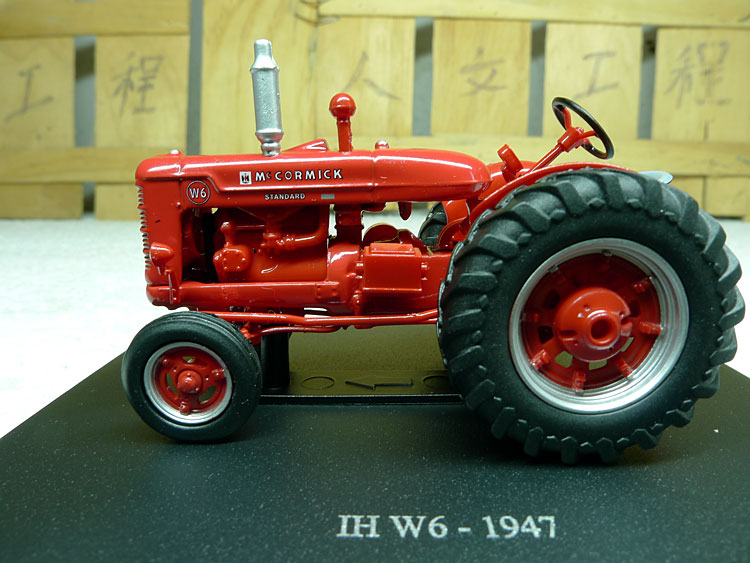 1:43 Scale Model IH MCCORMICK W6 tractor models Alloy model collection ...