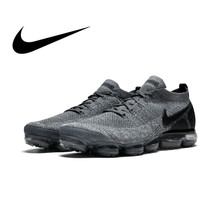 the latest b64dc 889e9 Original authentique NIKE AIR VAPORMAX FLYKNIT 2.0 chaussures de course  pour hommes respirant Sport baskets de