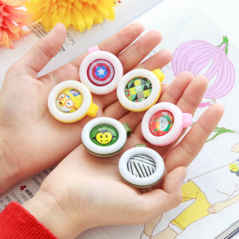2pc Cute cartoon Baby Anti mosquito Buckles Eco Friendly Non toxic ...