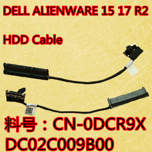 NEW Original DCR9X 0DCR9X For 15R 17X R2 HDD Hard Drive Connector Cable AAP10_HDD_CABLE DC02C009B00