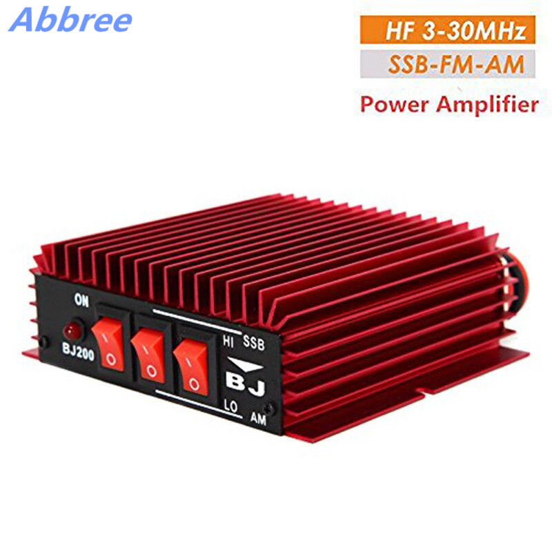 Abbree BJ 200 HF Power Amplifier 3 30MHz Voltage 13 8V for FM AM CW SSB