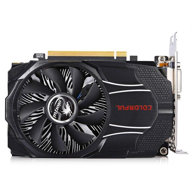 Đầy màu sắc NVIDIA GTX1060 Mini OC 6 Gam Màn Hình Chơi Game Card Đồ Họa 8000 MHz/6 GB/192bit GDDR5/Video Card Với Một Fan Hâm Mộ