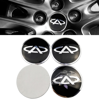For Chery Wheels Badge for Chery Tiggo 2 7 3 5 T11 M11 A1 Fulwin QQ A3 A5 Amulet Fora Eastar Car Rim Centre Sticker Hub Cover image