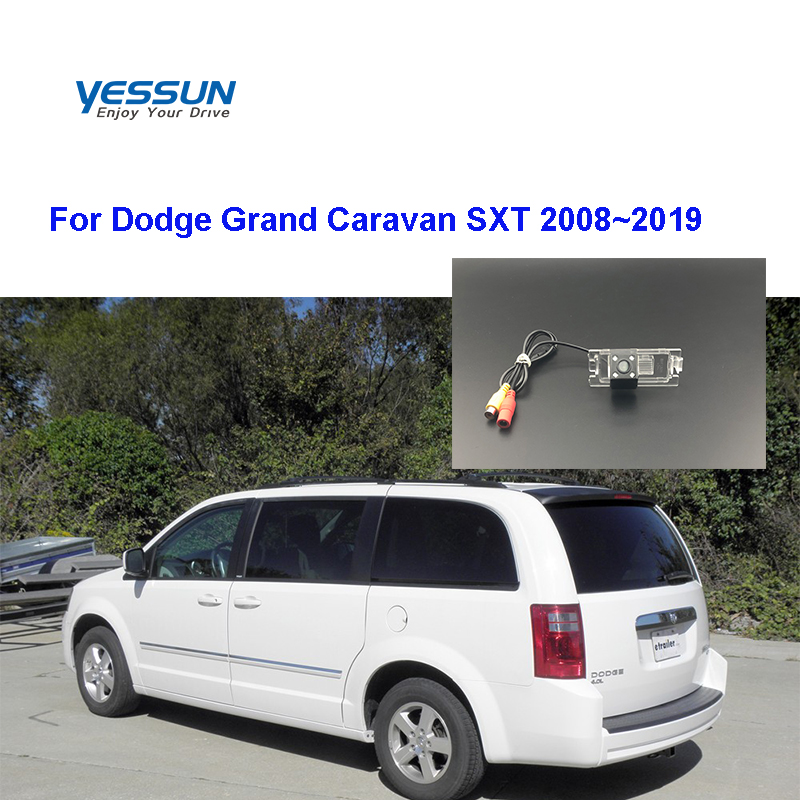 Yessun HD CCD Night Vision Car Rear View Reverse Backup Camera Waterproof For Dodge Grand Caravan SXT 2008/2009/2010/2011/2019