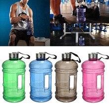 Tragbare Große Große Kapazität Wasserflaschen Outdoor Sports Gym Halbe Gallonen Fitnesstraining Camping Lauf Kunststoff-wasserflaschen