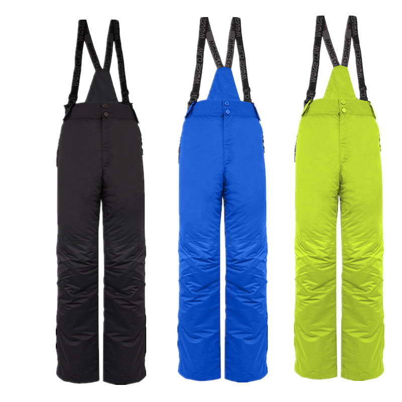 WILD SNOW Winter men skiing pants brands Outdoor Warm Snowboard trouser male waterproof snow trousers breathable sport pant PYP8