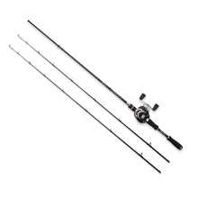 Joincool Wushen casting/spinning rod reel combo with Baitcasting Reel Carp rod Lure Fishing Rod casting carbon fishing rod