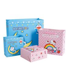 10pcs/lot New Cartoon Gift Paper Bags Childrens Day Wedding Candy Bag  Shopping Packaging