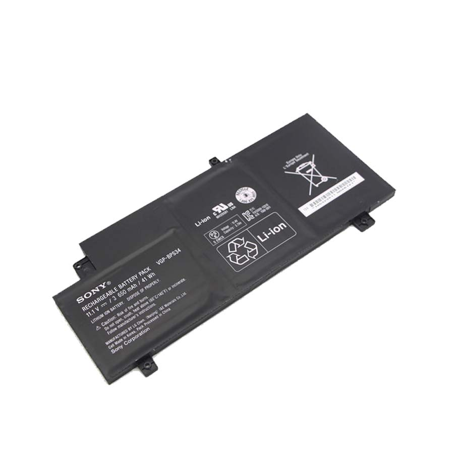 Bateria origjinale për Sony vgp-bps34 BPS34 F15A16 F15A16SC VAIO-CA46 SV-T13122CYS ca47 ca48 vaio fit 15 serie 41wh Transporti falas