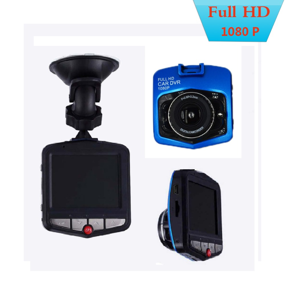 GT300 Camcorder Auto Car DVRs 2.4'' LCD 1080P Full HD Video Camera Recorder Video G-sensor Night Vision Trace Cam Cars Camera