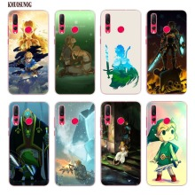 Transparent Silicone Phone Case Legend of Zelda nintend world for Huawei Nova 4 P Smart P30 Y5 Y6 Y7 Y9 Pro Lite 2019 2018 2017