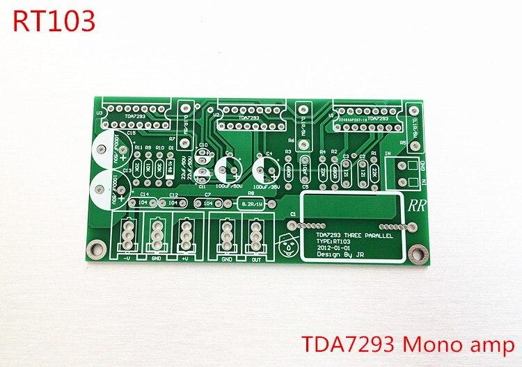 250 Watt drei parallele tda7293 verstärker mono verstärkerplatine ...