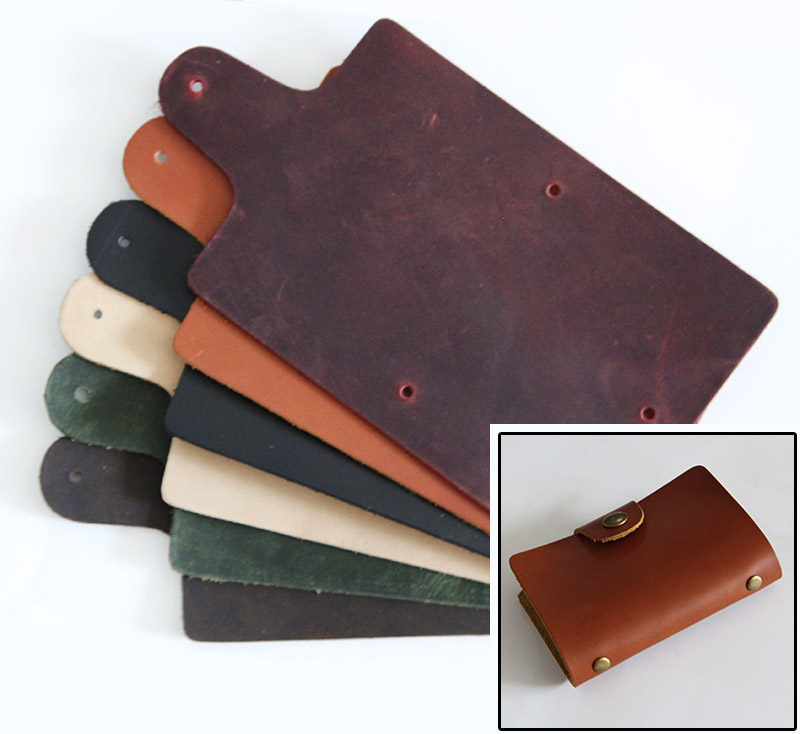 Diy handmade business card holder leather credential place bag 20 ...