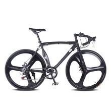 En aluminium vélo de route pignon Fixe vélo 28 pouce 52 cm DIY cadre cadre Musculaire Complète 14 vitesse Vélo De Route En Alliage D'aluminium trame standard