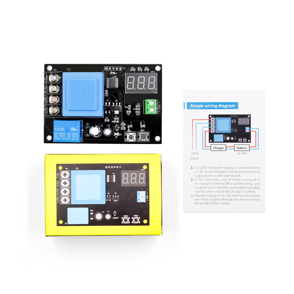 VHM-002 XH-M602 digital control battery lithium battery charging control module Battery charge control switch Protection boardVHM-002 XH-M602 digital control battery lithium battery charging control module Battery charge control switch Protection board