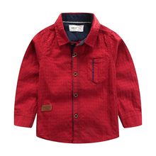Shirt For Boys 2019 Fashion Brands Classic Plaid Baby Shirts Children Clothing Long Sleeve Cotton Top Kids Toddler Shirt new boys shirt for kids cotton clothing 2018 fashion new baby boy plaid shirts long sleeve england school trend children clothes