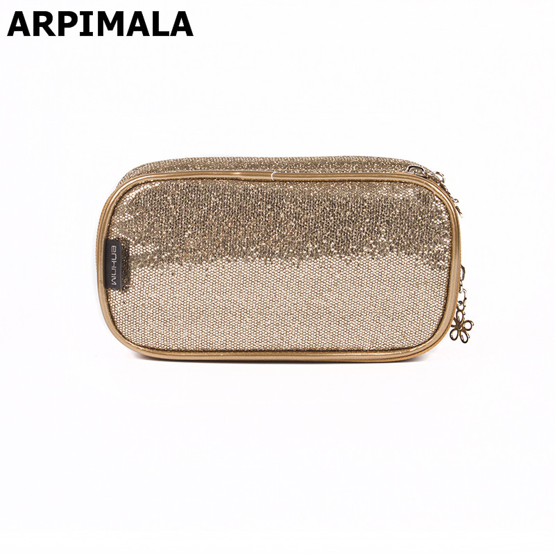Shiny Sequins Makeup Bags Women Luxury s