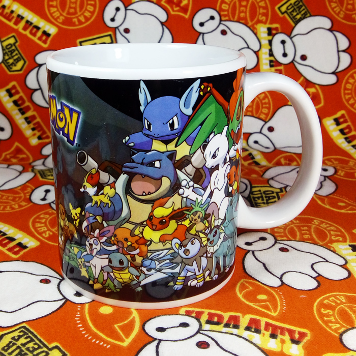 Official Imperfect Limited Ceramic Coffee Mug POKEMON Pocket Monster Milk Cup Collection Mug Multicolor for Fans