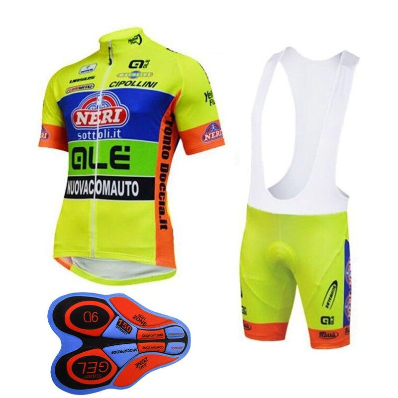 2017 men's ALE cycling jersey bike maillot road bicycle clothing ropa ciclismo summer quick dry short shirts bib shorts set F248