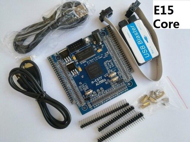 US $36 27 7% OFF|E15 altera fpga board altera board fpga development board  EP4CE15f17C8N NIOS II board+ SDRAM +USB DC 5V POWER-in Demo Board from