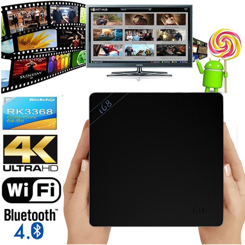 new RK3368 TV Box Android 5 1 Octa Core 2GB 16GB 4K Bluetooth4 0 2 4G