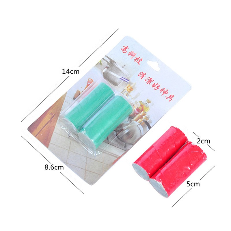 New 10 pcs Home Cleaning Supplies Stainless Steel Rod Magic Stick Metal Rust Remover Clean Cookers Potes Brush Cleaner Pakistan