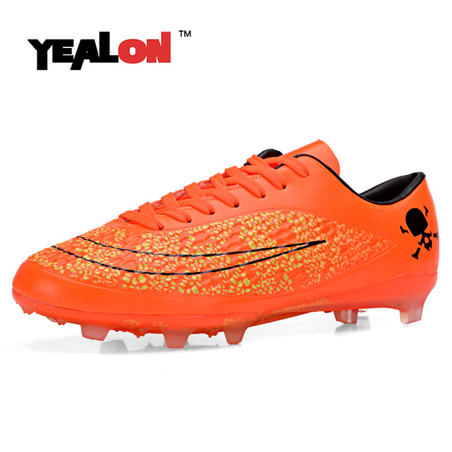 YEALON Spike Zapatos de Fútbol Para Niños Niños Hombres Superfly FG Botas  de Fútbol Superfly Original 1330a8617ca