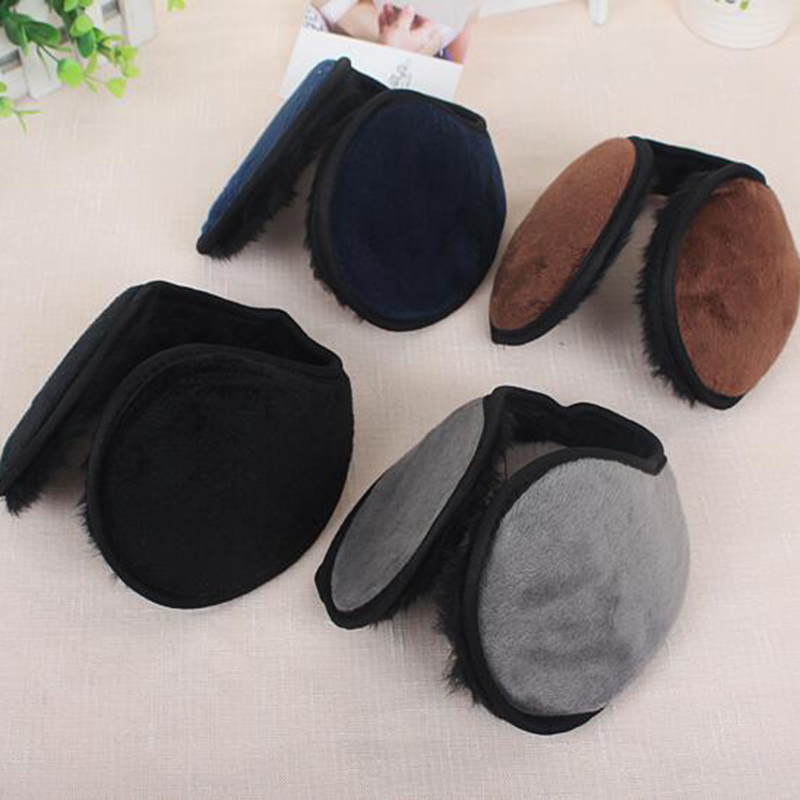 New Arrivals Solid Color Soft Comfy Unisex Earmuffs Plush For Women Men Warm Winter Ear Muffs Cover Accessories Top Quality