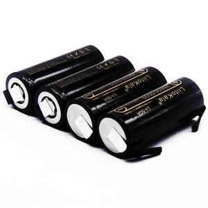 Image 4 - 2020 HK LiitoKala Lii 50A 3.7V 26650 5000mah o dużej pojemności 26650 50A akumulator litowo jonowy do latarki led + diy nikiel
