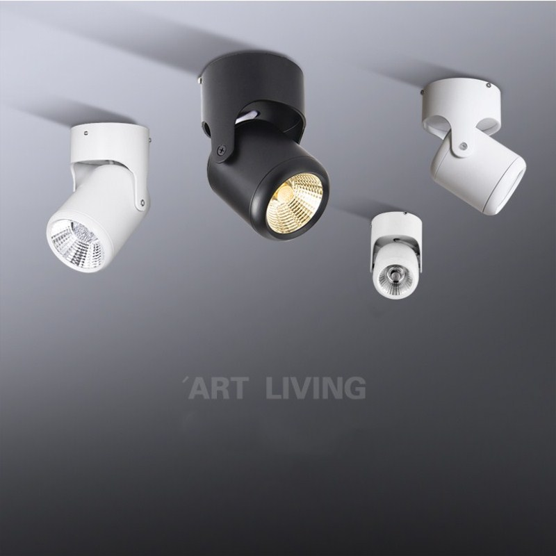 Modern LED Spotlights Mini led ceiling Down lighting AC85 265V 3W 5W white lighting bulb for cabinet counter showcase fixtures