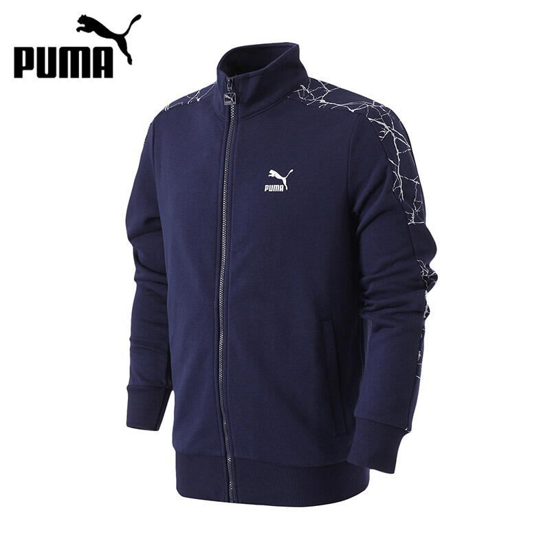 Original New Arrival 2017 PUMA Archive Graphic AOP T7 Track Jkt TR Mens jacket Sportswear