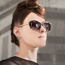 JUANBO 2017 New Fashion Cat Eye Sunglasses Super Glasses Transparent Big Frame Colorful Women Men Hot Oculos