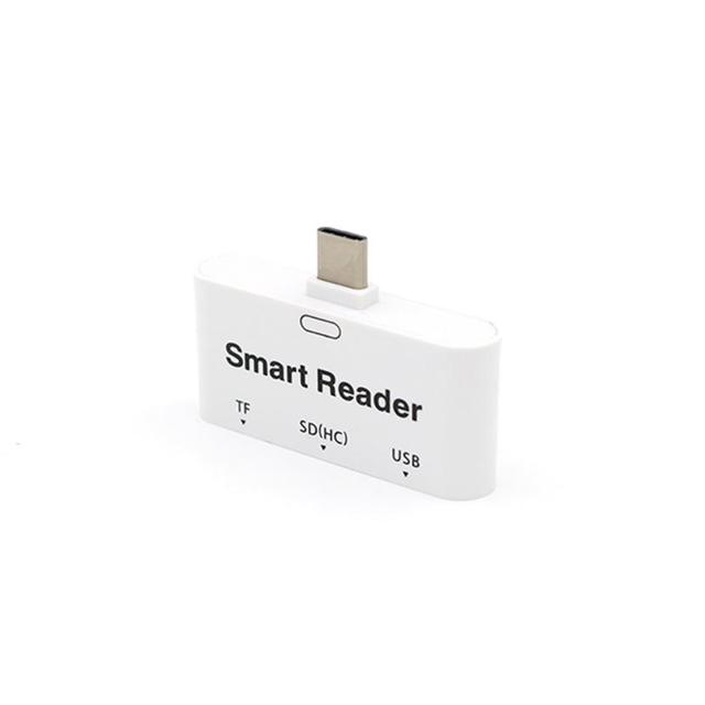 Красивый Подарок Новый Тип-С 3 в 1 Многофункциональный Устройство Чтения Карт Памяти Адаптера USB/TF/SD для Macbook Оптовая цена Apr1
