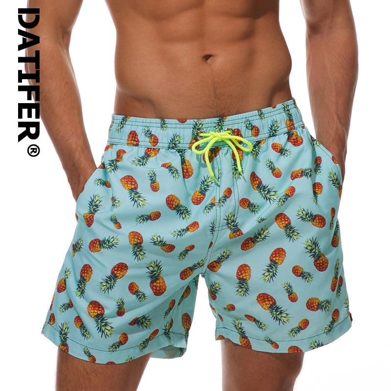 Datifer Hot Man Surf Board Shorts Quick Dry Shorts Running Sports Bottoms Swim Surf Bermuda Short Pants