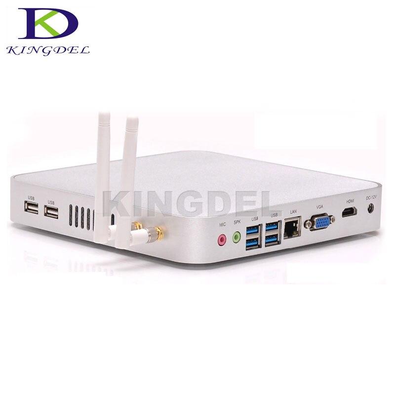 De baja Potencia X86 Mini Ordenador 1037U Celeron Dual Core 1.8 GHz 1 * lan 1 *