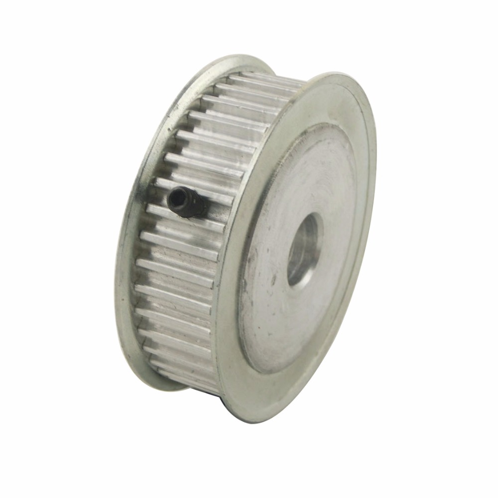 Aluminum Alloy 5M Type 40T 10mm Inner Bore 40 Teeth 5mm Pitch 16mm Belt Width Timing Belt Pulleys 20 teeth 10mm bore 16mm belt width t5 aluminum timing belt pulleys t5 open timing belt and 8 10 shaft coupler
