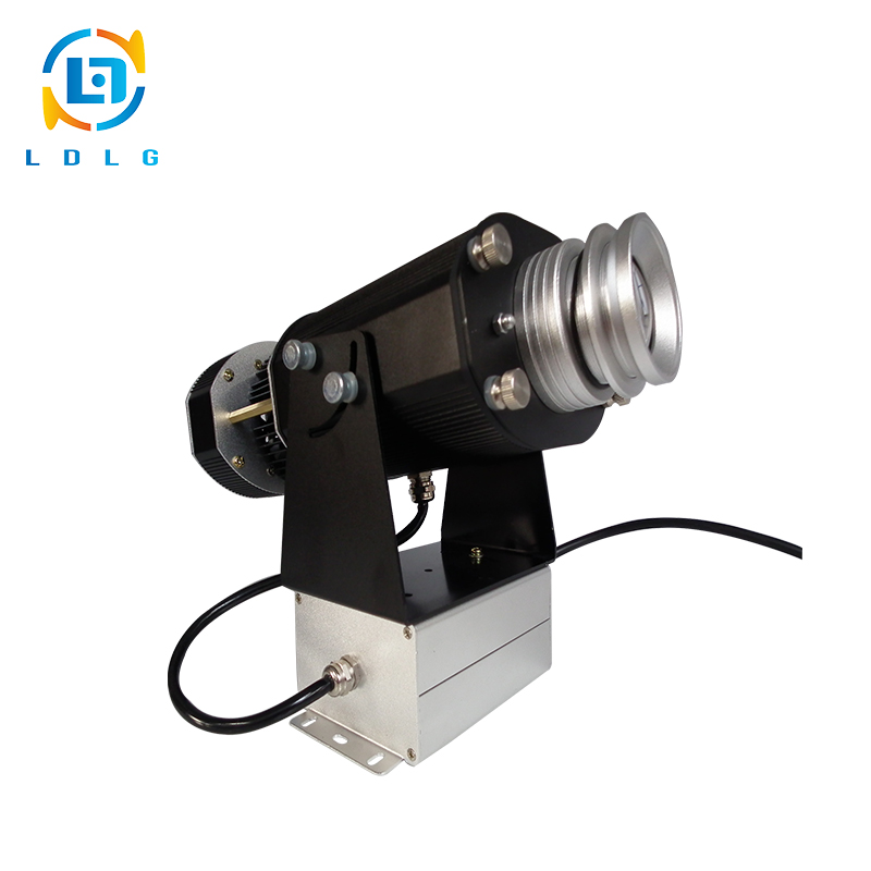 RoHS Certified Festival Decorate Indoor 40W LED Gobo Projector Light 4500Lumen LED Logo Gobo Projector with ONE Full Color Gobo