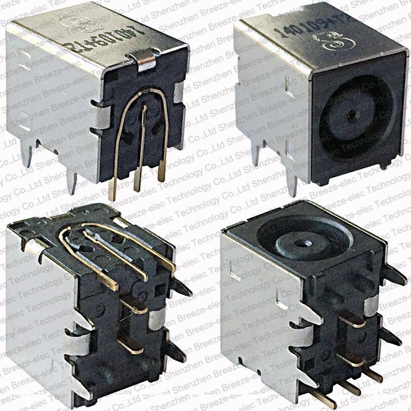 1 ~ 100 pièces / lot Véritable NOUVEAU Connecteur Jack DC Power pour Dell Inspiron N5020 N5030 M5030 POUR Asus W90VP W90VPHP Sans câble