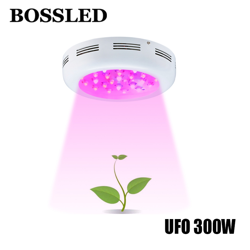 UFO 300W Double Chips led grow light Full Spectrum for indoor plants grow led light greenhouse hydroponics led grow light tent lefan 2018 sport suits 3pcs men elastic running fitness sets male training sportswear clothes set gym tracksuits tight leggings