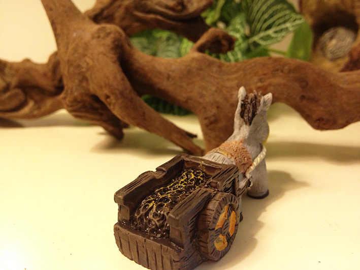 Osioł/zwierzęta/fantasy miniatury/słodkie/fairy garden/gnome/mech terrarium wystrój/rzemiosło/ bonsai/butelka ogród c036 DIY/modelu