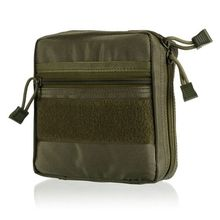 Military First Aid Kit Belt EDC Pouch Survival Gear Bag Tactical Multi Medical Kit or Utility Tool
