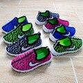 2017 Весной и Летом Случайные Новорожденных Девочек Shoes Mesh Дышащие Дети Shoes Дети мальчики shoes Insole длина 12.5 ~ 21 см shoes