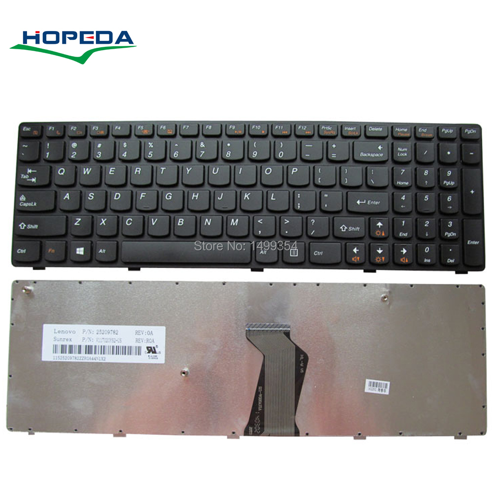 New Laptop <font><b>Keyboard</b></font> For <font><b>Lenovo</b></font> B570 B590 V580 B575 <font><b>B570E</b></font> V585 V570 V570A B580G Z575 <font><b>Keyboard</b></font> Replacement image