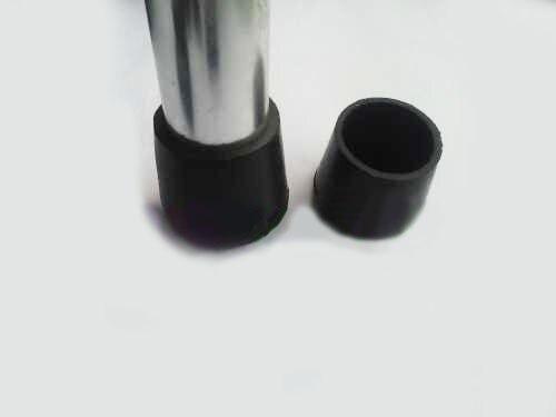19mm rundrohr regal f e abdeckung leere rohr abdeckkappe schwarz kunststoff tisch stuhl bein. Black Bedroom Furniture Sets. Home Design Ideas